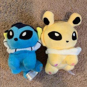 2 Pokémon's!